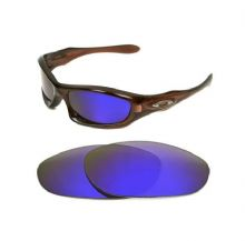 NEW POLARIZED CUSTOM PURPLE LENS FOR OAKLEY MONSTER DOG SUNGLASSES